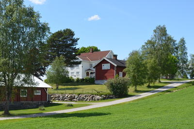 Englaug, Edvard Munchs birthplace.