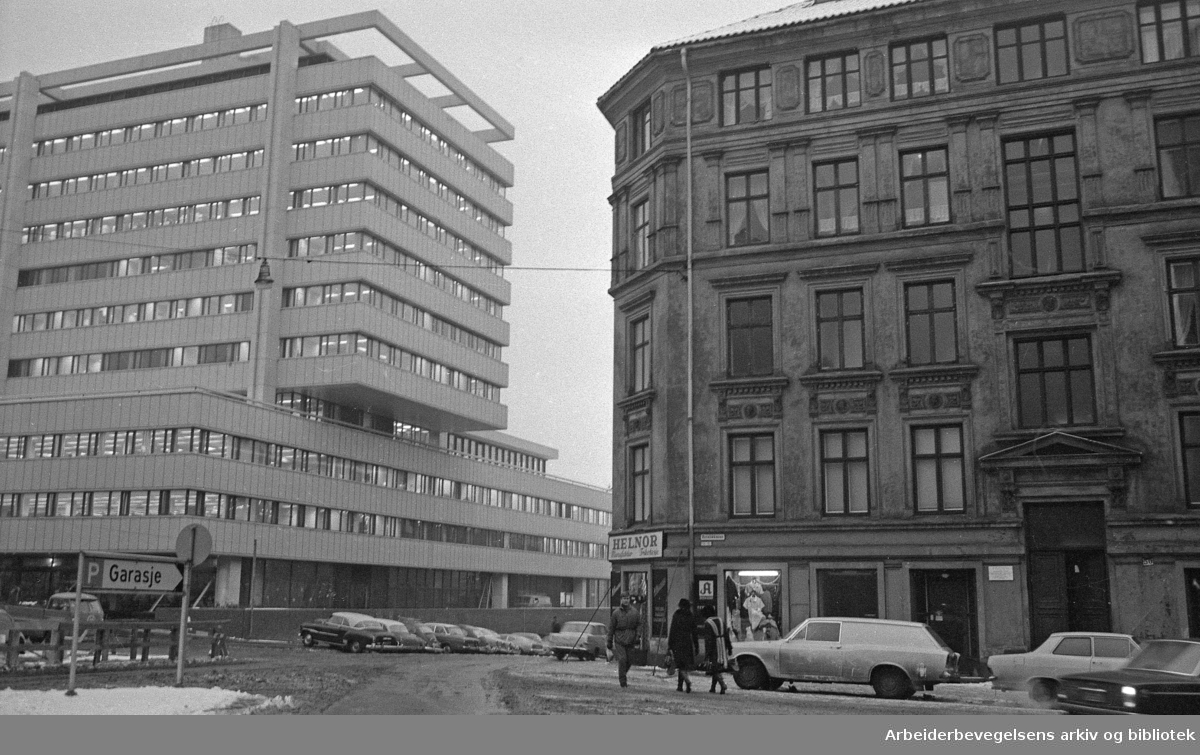 Vika/Ruseløkka..Ca. 1970.
