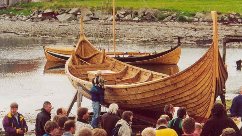 "The viking sip ""Visund"". (Foto/Photo)"