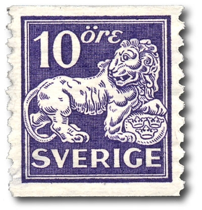 Stående lejon, typ II