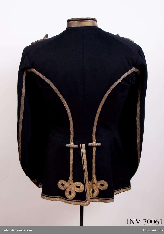 Grupp C I. Uniform, stor, m/1859 för adjutant.