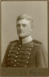 Porträtt av Patrik Georg Fabian de Laval, underlöjtnant vid