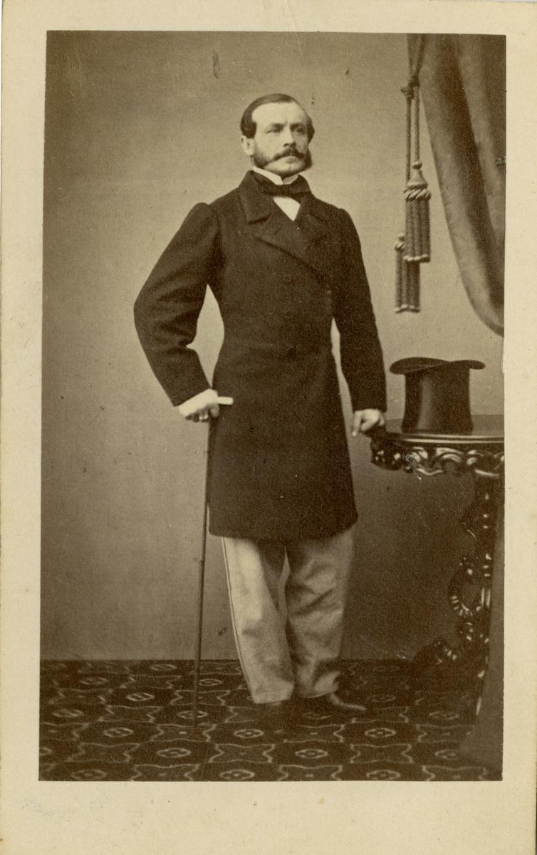 Porträtt av Alexander Magnus Leuhusen, överste vid Jönköpings regemente I 12.