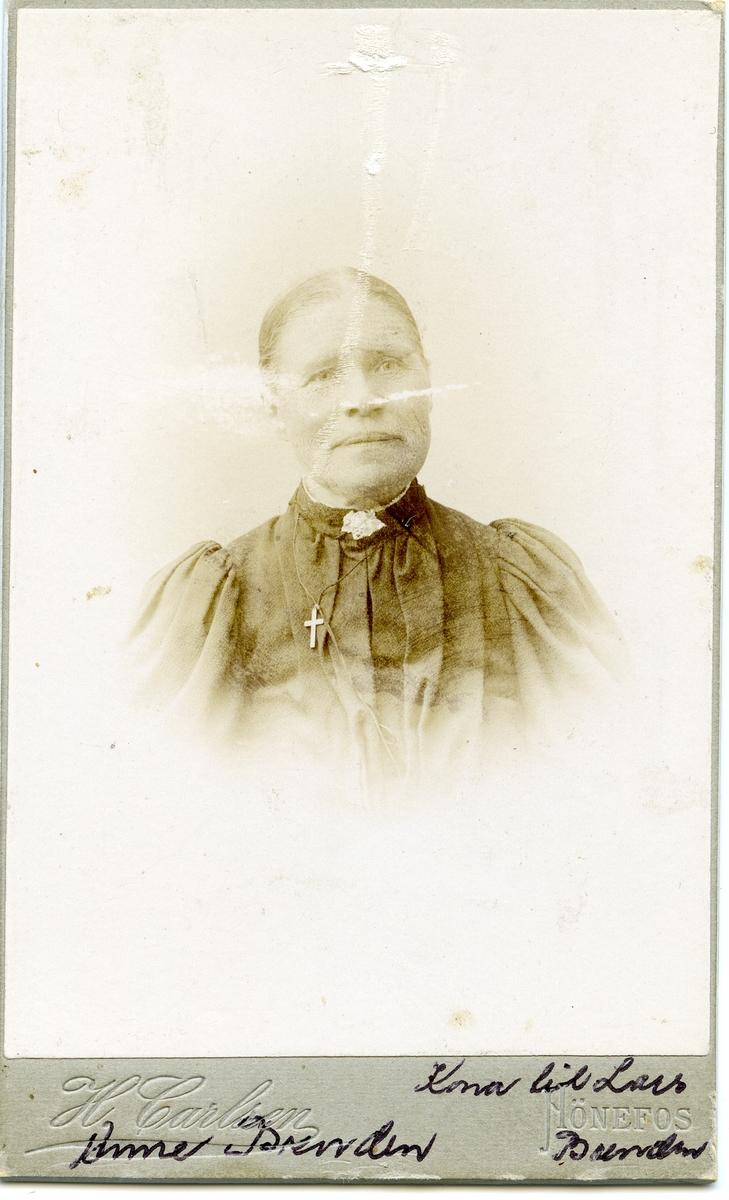 Portrett av Anne Brenden.