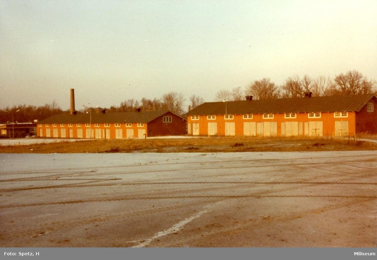 Förråd, A 6. Byggnad 016, 017.