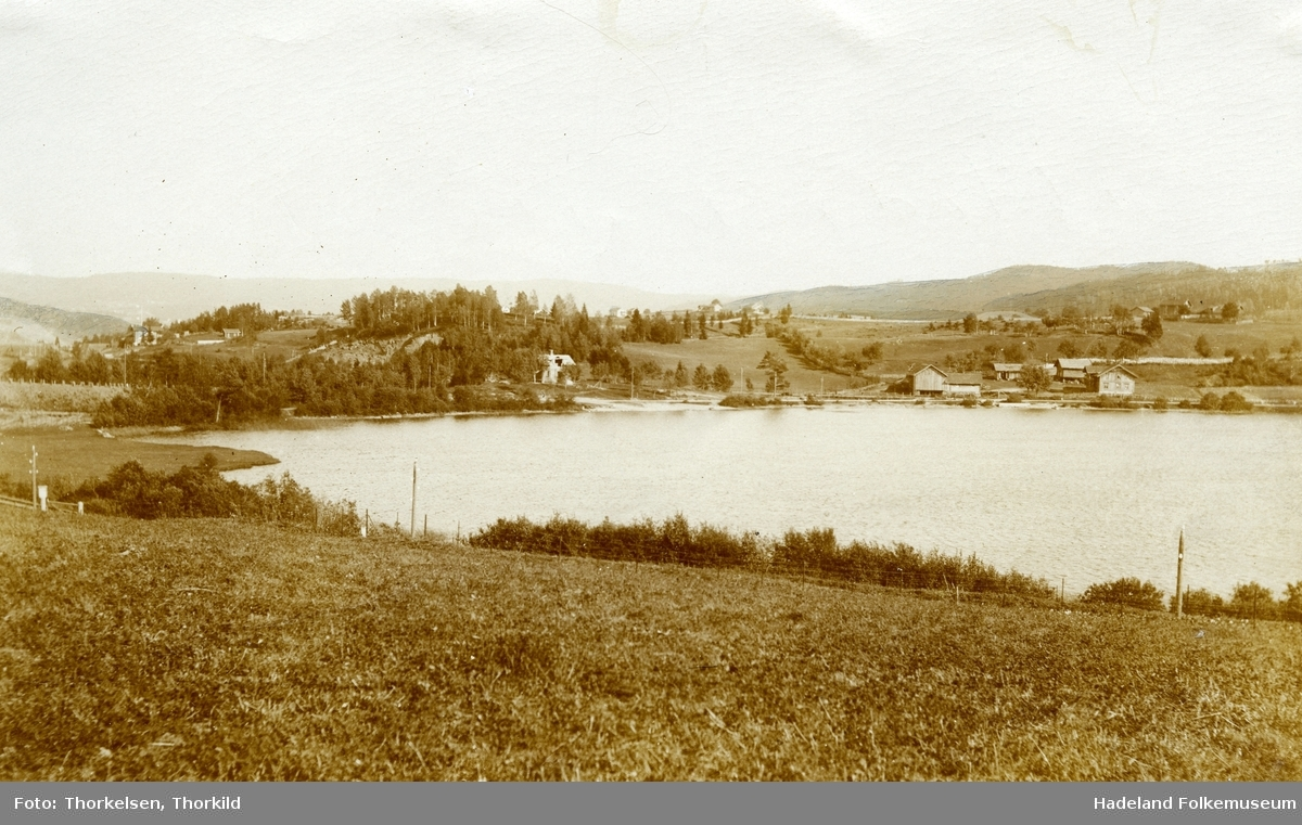 Utsikt over Kalvsjø.