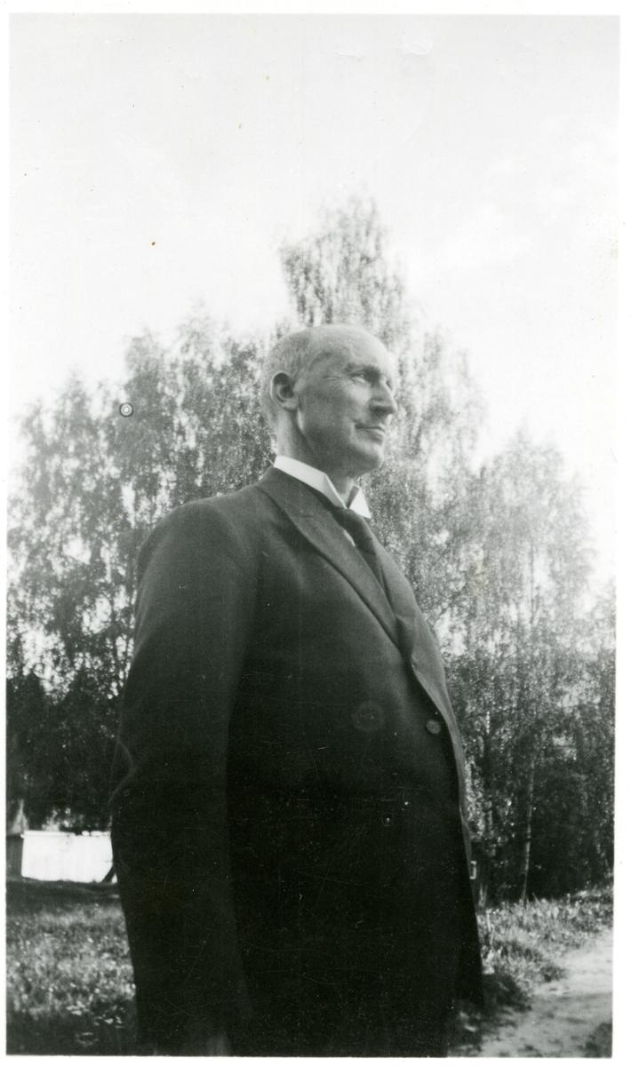 Portrett av Olaus Islandsmoen, tatt 1937.