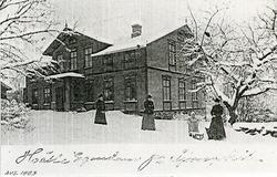 Hälle egendom på Ljungskile 1903