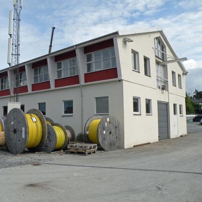 Lager  med kabeltromler
