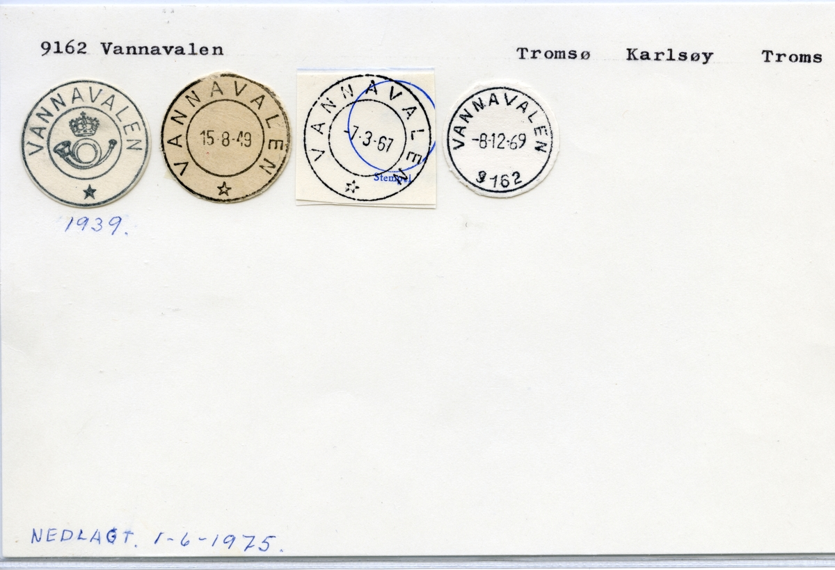 9162 Vannavalen, Tromsø, Karlsøy, Troms