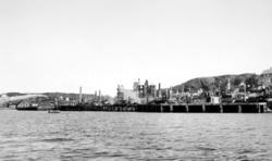 Nordlandet i ruiner etter bombingen de sene aprildagene 1940