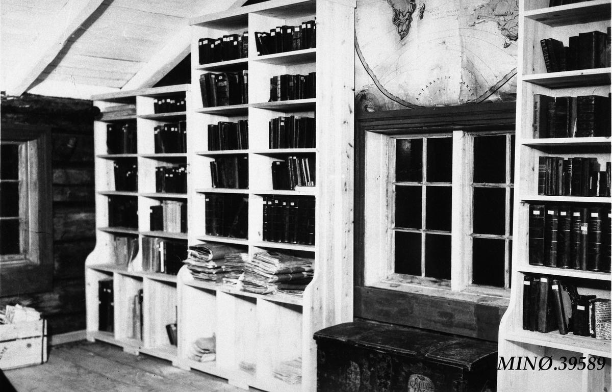 Interiør fra Fedraheimsstua, utstilling