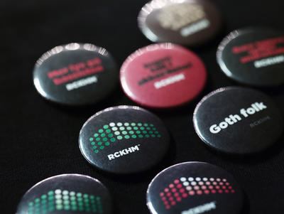 Buttons. Foto/Photo