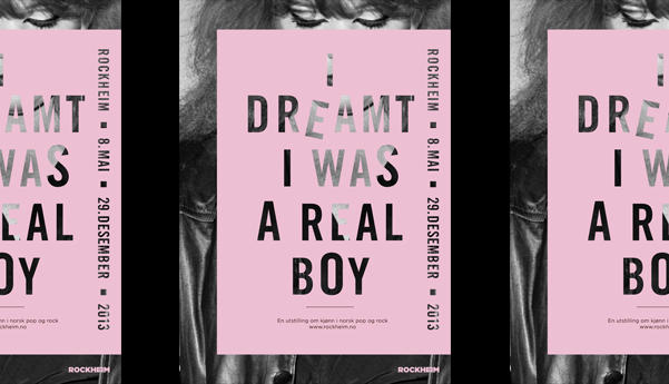 I Dreamt I Was A Real Boy - Header