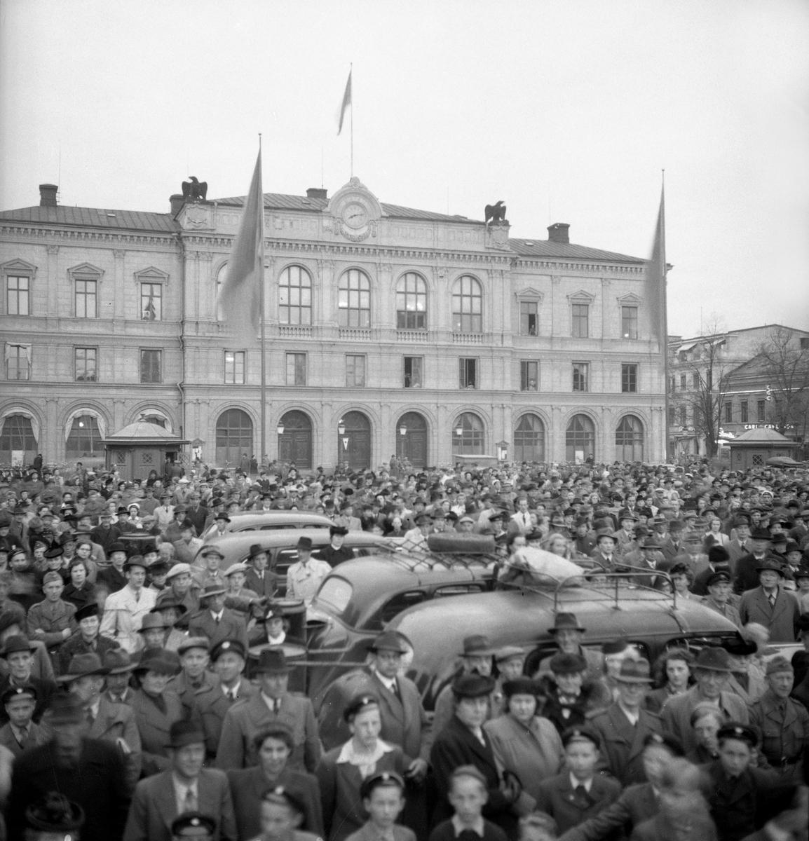Freden i Norge den 7 maj 1945 firades i Karlstad med flera arrangemang.