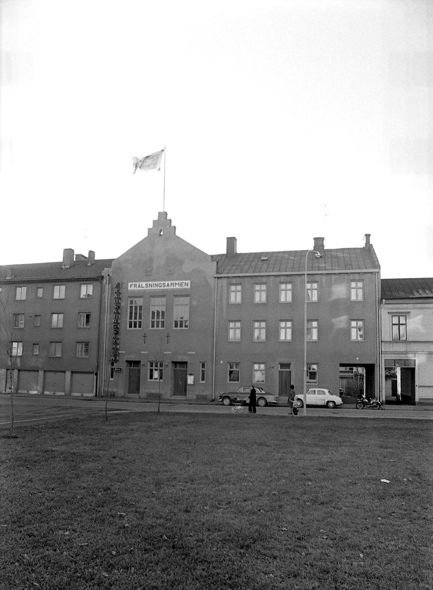 Frälsningsarmén fastighet i Haga år 1972.