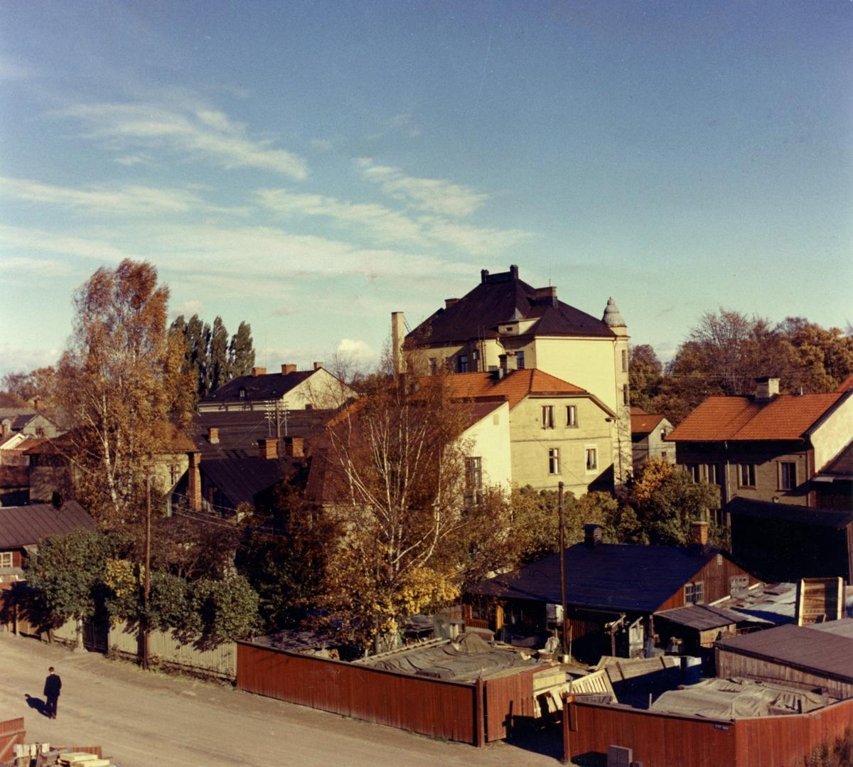 Södra delen av kvarteret Rosenbad 1958.
