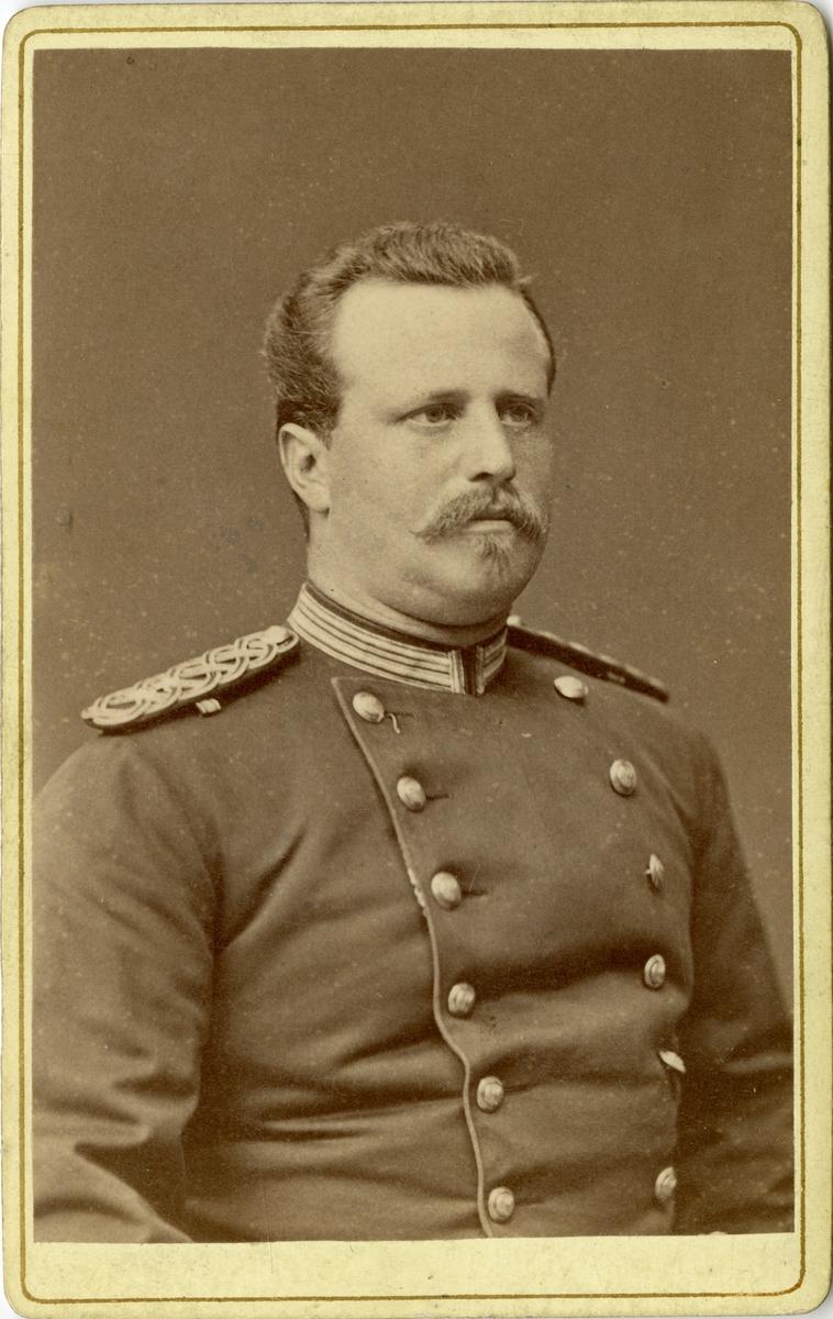 Porträtt av löjtnant Silfversparre.