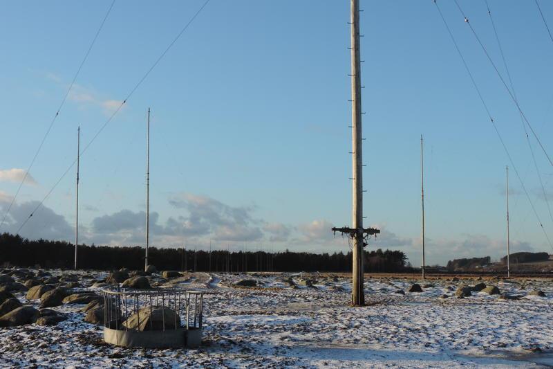 Master og antenner. Skjæveland, Rogaland radio mottakerstasjon, 2016 (Foto/Photo)