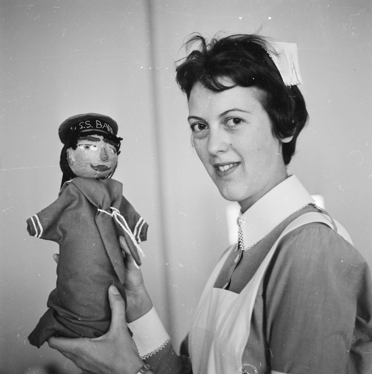 """""""Eva Wiklund fackskolan"""", Uppsala, juni 1962"""