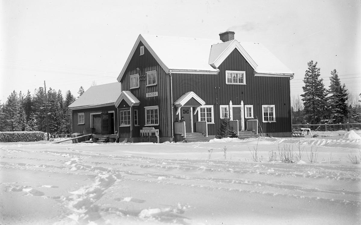 Baggå, Dalgränsens station