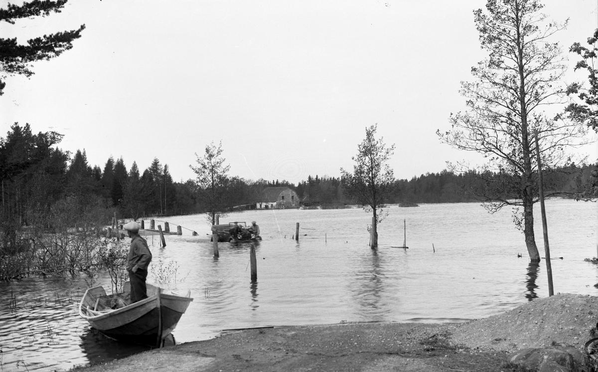 Översvämning i Gysinge