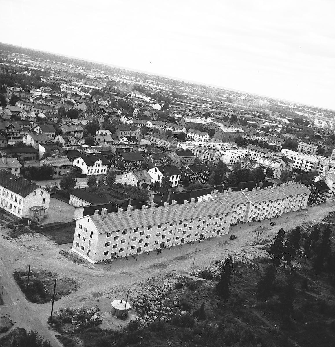 Flygbild över Brynäs. Troligtvis år 1948.