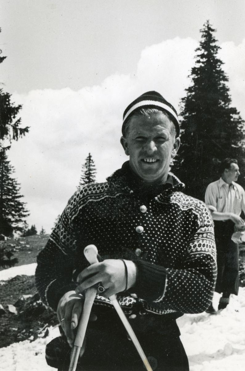 Joy of skiing