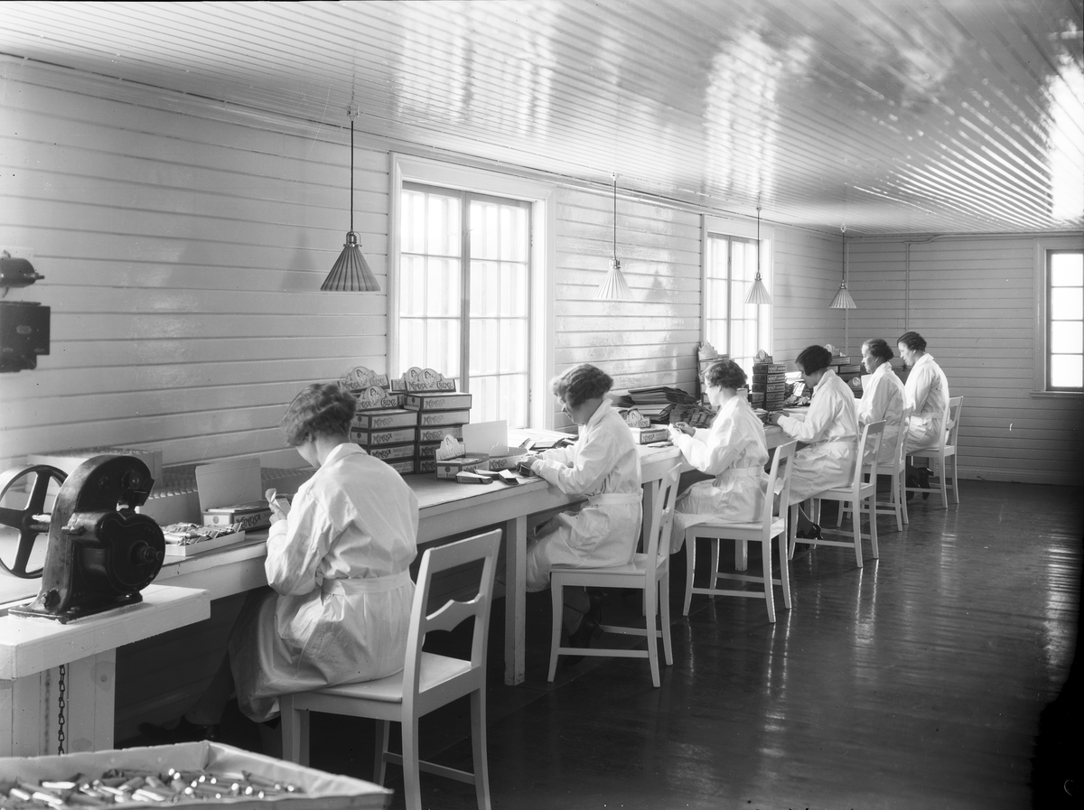 Elfströms Tekniska Fabrik AB  även känd som ljusfabriken Svea, grundades 19612 och ombildades till aktiebolag 1927. Tillverkade stearinljus, lutpulver, såplut, tvättmedel, hud och tandkrämer. Reporia svaveltjärtvål m.m Arbete med Mimosa cremé