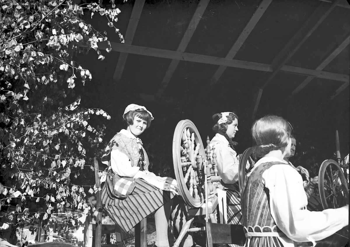 Bondeförbundet Årsstämma, Åby Gård. Bondeförbundets ordförande Axel Pehrsson-Bramstorp. Juni 1939