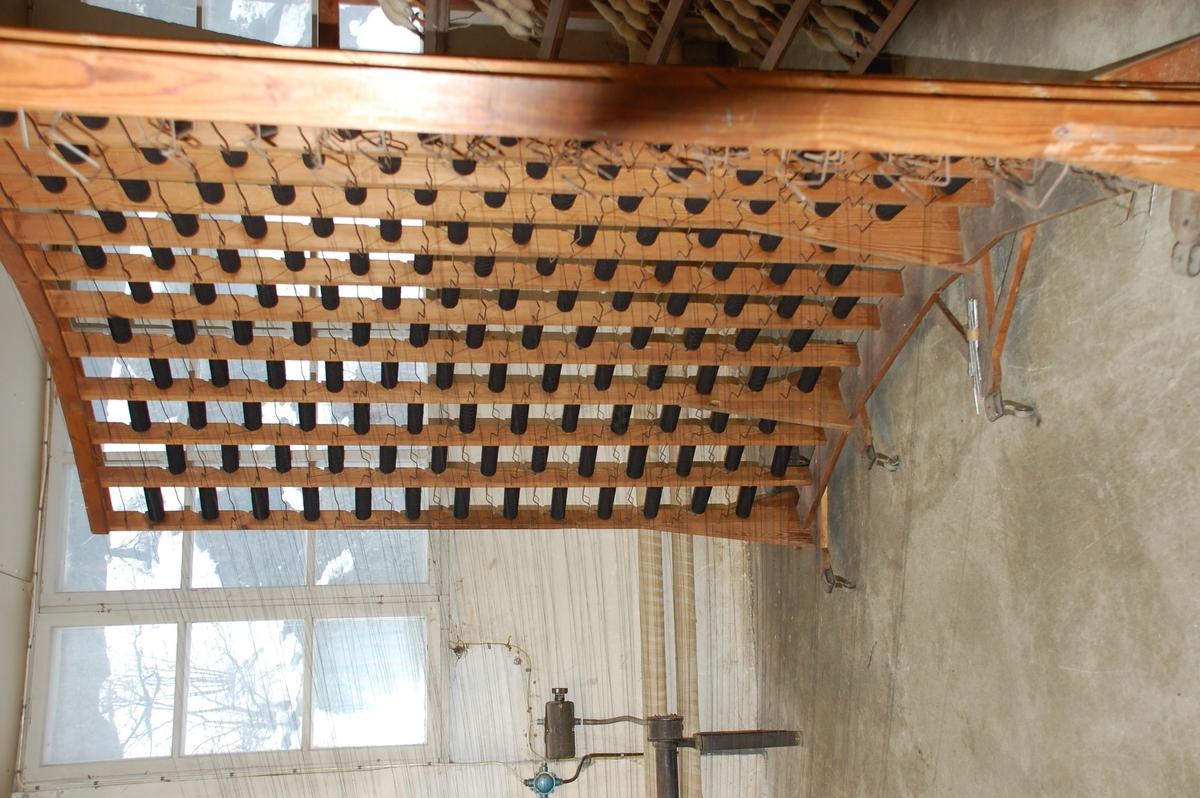 Rennehekk brukt til spoler, inntil 208 stk