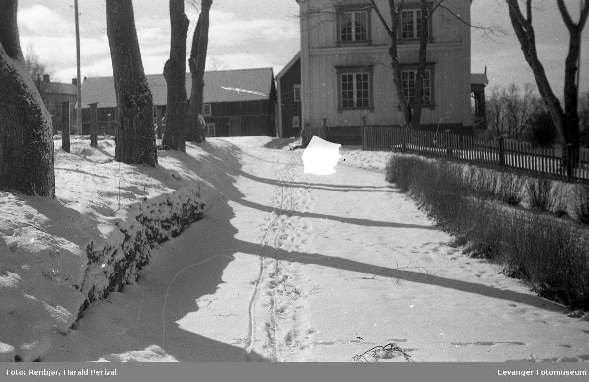 Fra Brusve om vinteren.