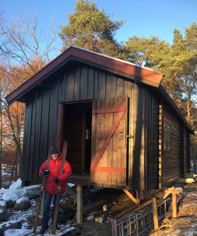 DNT-hytta Hovinkoia på Norsk Folkemuseum