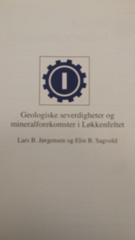 Forside geologihefte (Foto/Photo)