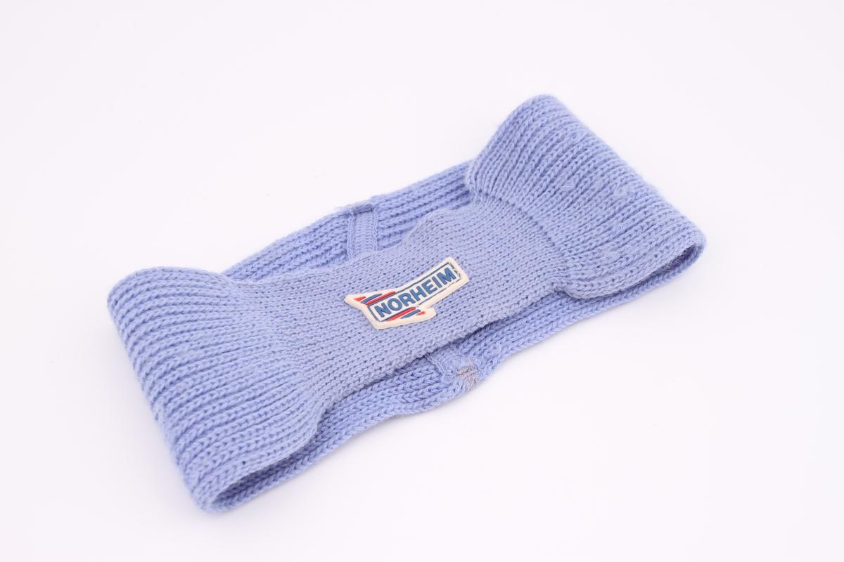 Et pannebånd i strikk.