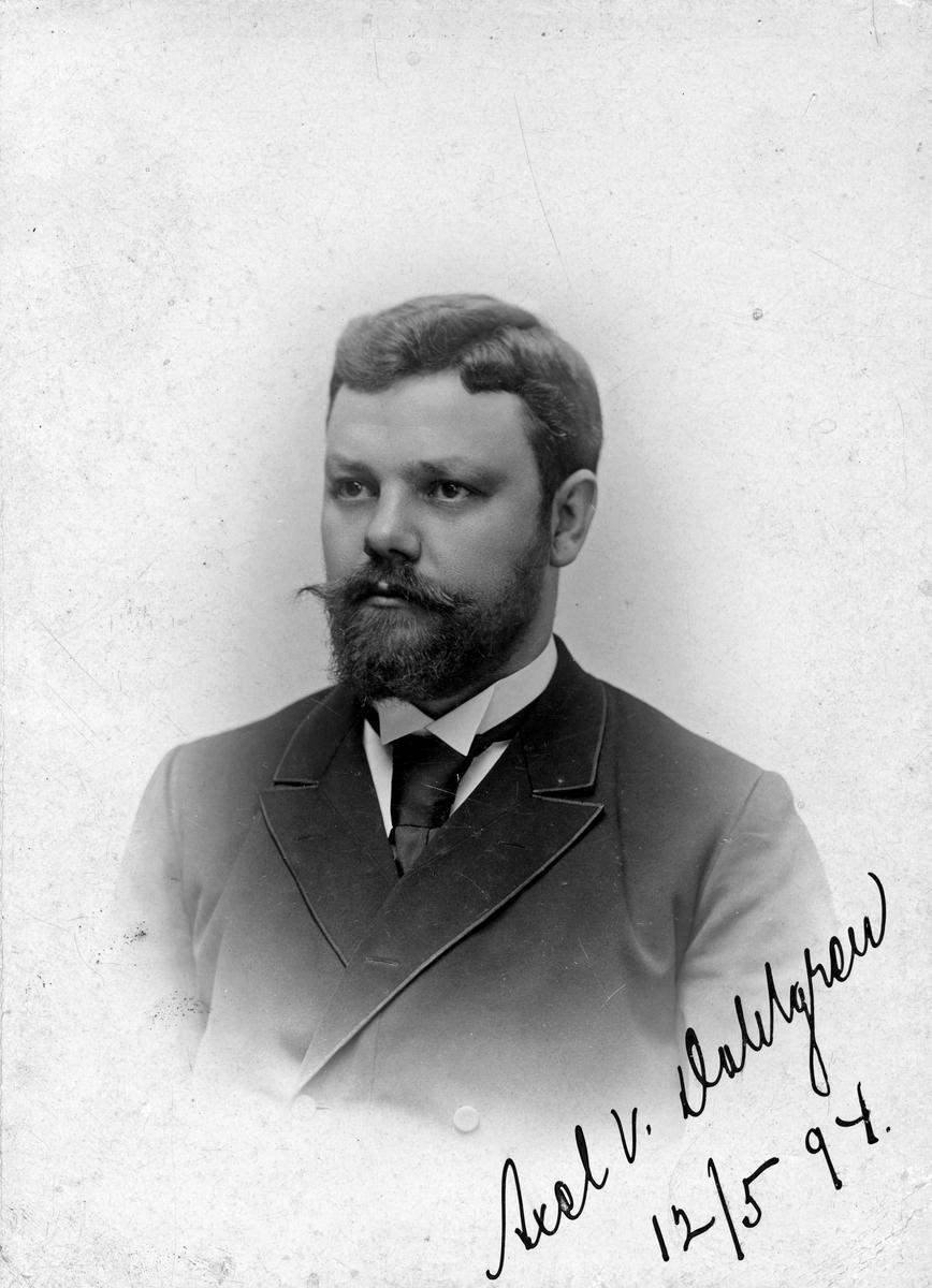 Axel V. Dalgren, 1894.
