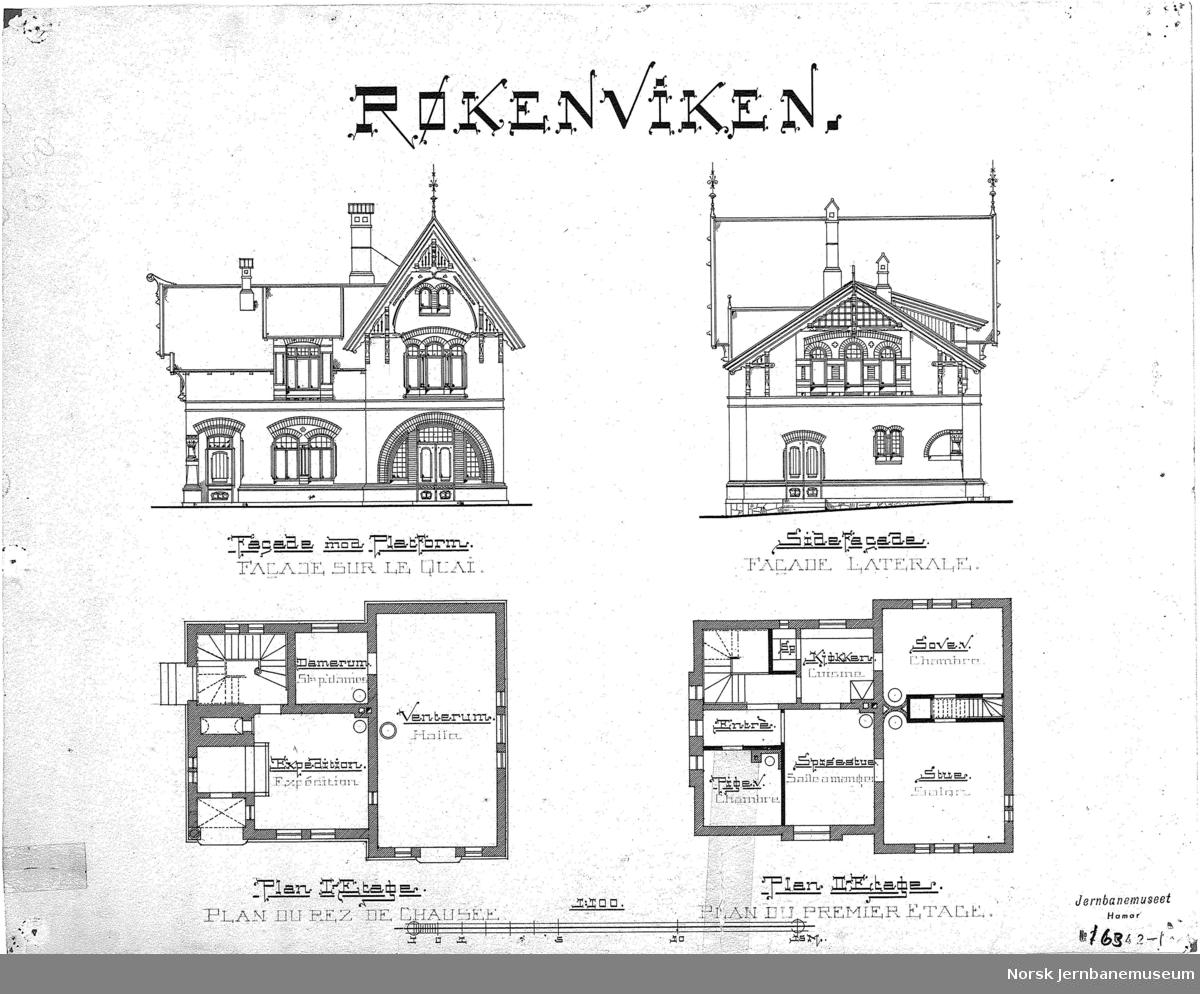 Røkenviken stasjonsbygning