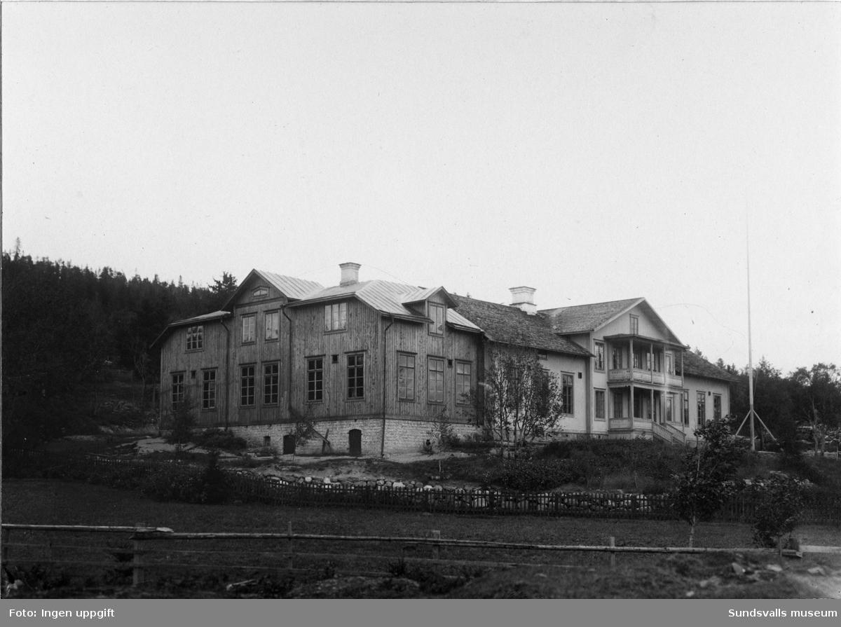 Gärde folkskola, 1911.