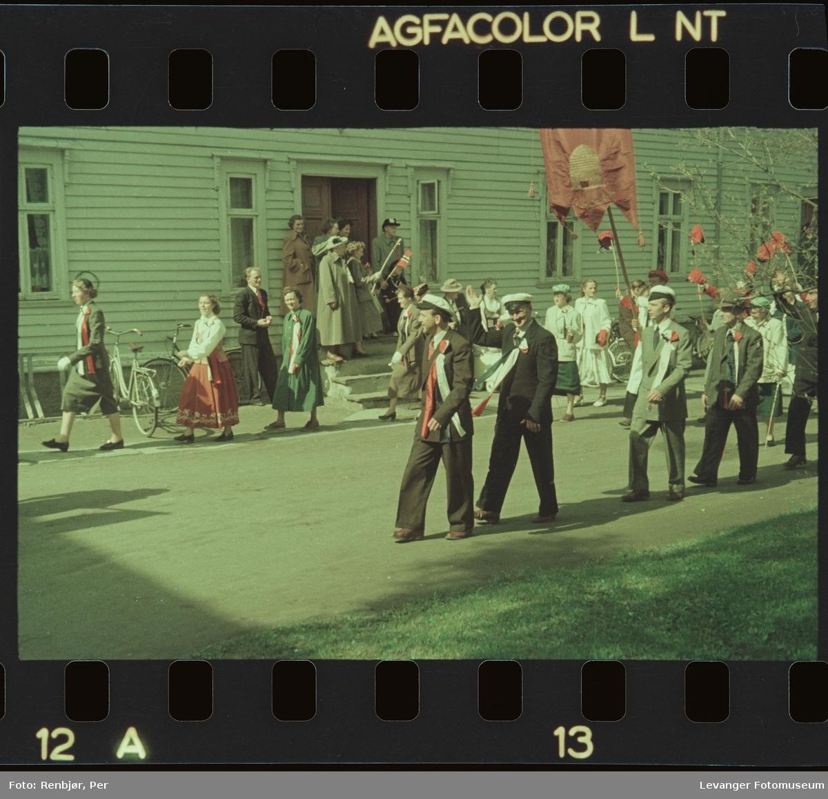 17. mai feiring i Levanger.