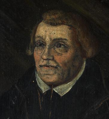 Martin Luther detalj. Foto/Photo