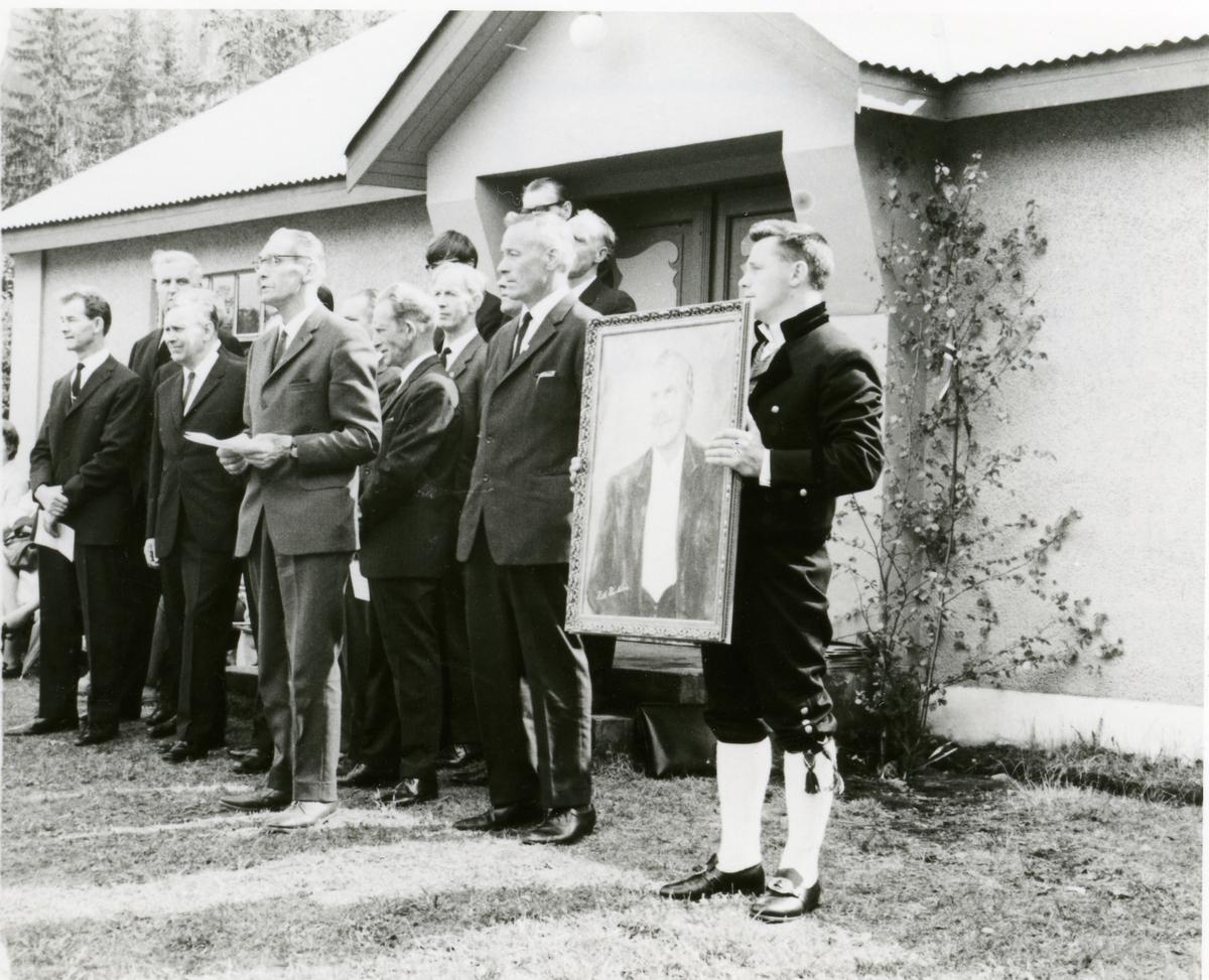 Stemne ved Bagn Bygdesamling pinsa 1971.