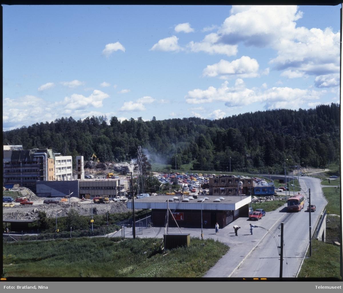 Byggearbeid Norsk Data på Skullerud Oslo