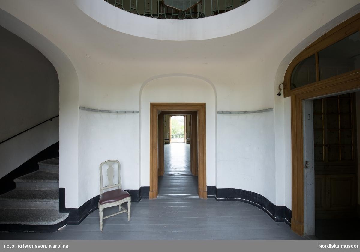 Svindersvik, Stora huset, interiör plan 1, förstuga