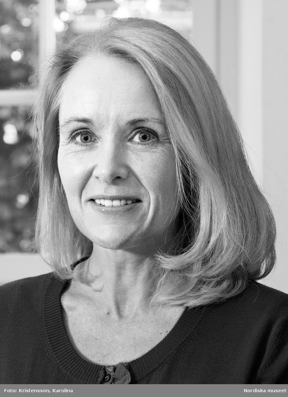 Porträtt Maria Maxén, intendent avd Kunskap och förmedling