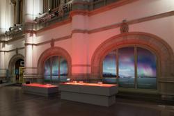"""Nordiskt ljus, utställningsdokumentation, Norrsken och """"Skym"""