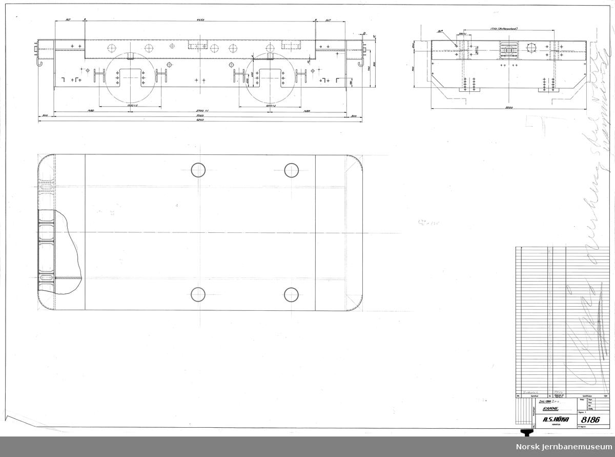 HØKA DHL-200 Ramme Prosjekt, ikke realisert (se også JMT-HØKA-8184)