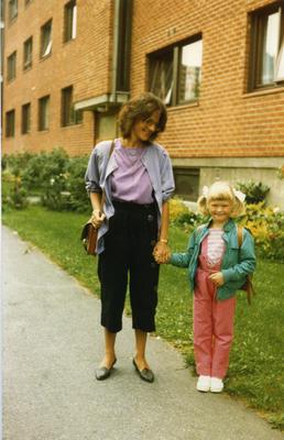 Barn på 80-tallet. Foto/Photo