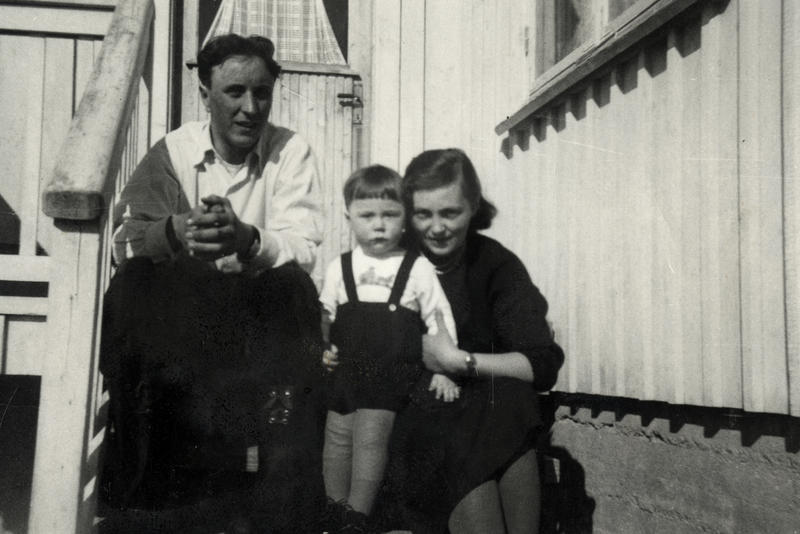 Familien Arntsen på 1950-tallet