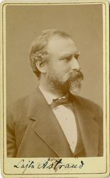 Porträtt av Fredrik August Åstrand, överstelöjtnant vid Förs
