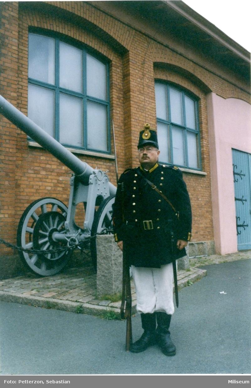 Palm, Anders. Uniform m/1860 för manskap, Jkpgs reg. I 12.